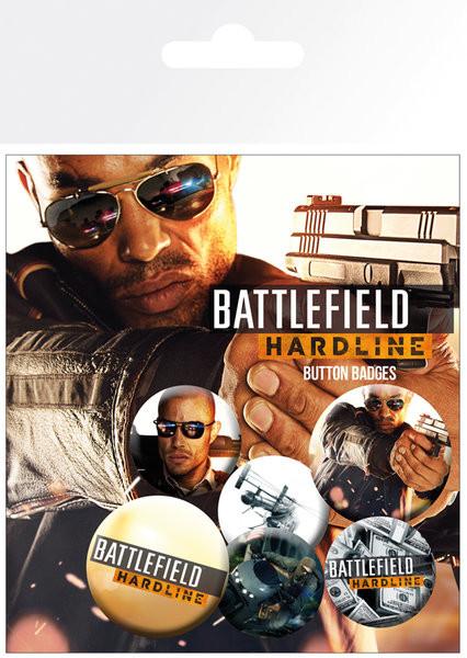 Zestaw przypinek Battlefield Hardline - Soldiers