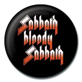 Odznaka BLACK SABBATH - Sabbath bloody Sabbath