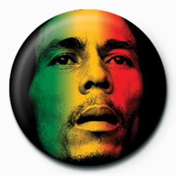 Odznaka Bob Marley (Face)