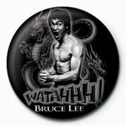Odznaka BRUCE LEE - WATAHH!