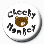 Odznaka CHEEKY MONKEY