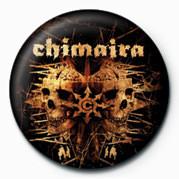 Odznaka Chimaira (Double Skull)