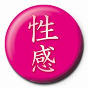 Odznaka CHINESE - sexy