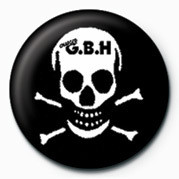 Odznaka G.B.H (SKULL)