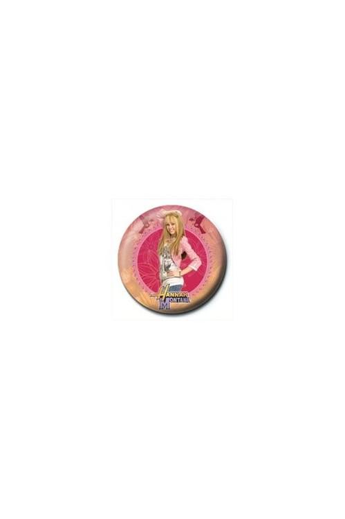 Odznaka HANNAH MONTANA - circle