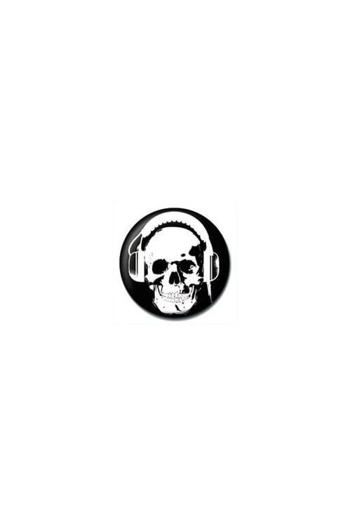 Odznaka HEADPHONE SKULL