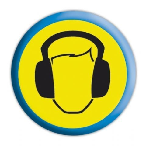 Odznaka  HEADPHONES