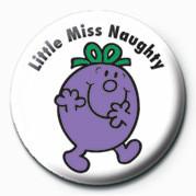 Odznaka  MR MEN (Little Miss Naught