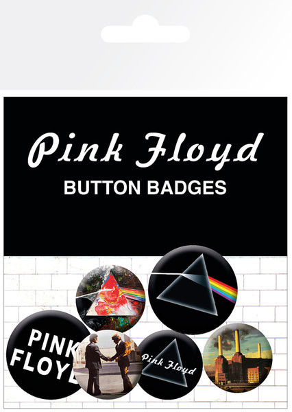 Odznaka Pink Floyd - Album and Logos