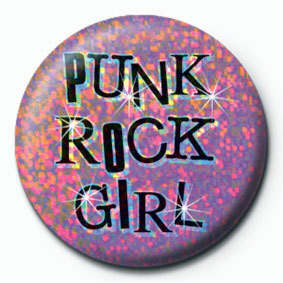 Odznaka PUNK ROCK GIRL
