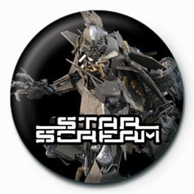 Odznaka TRANSFORMERS - star scream