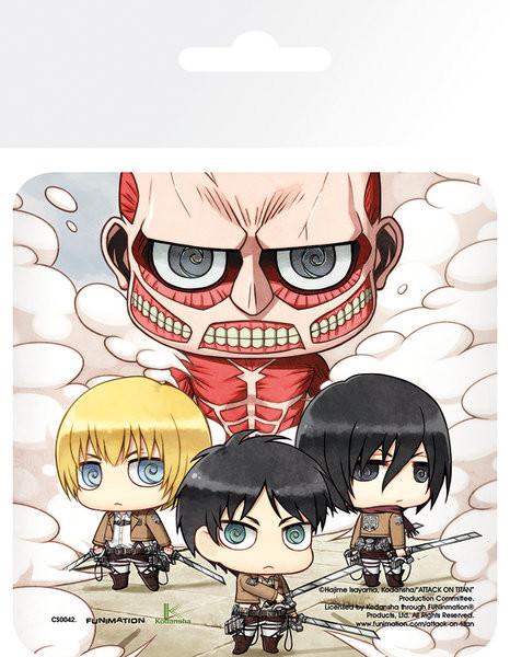 Attack On Titan (Shingeki no kyojin) - Group Onderzetters