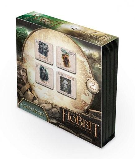 De Hobbit 3: De Slag van Vijf Legers Onderzetters