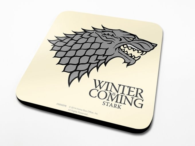 Game of Thrones - Stark Onderzetters