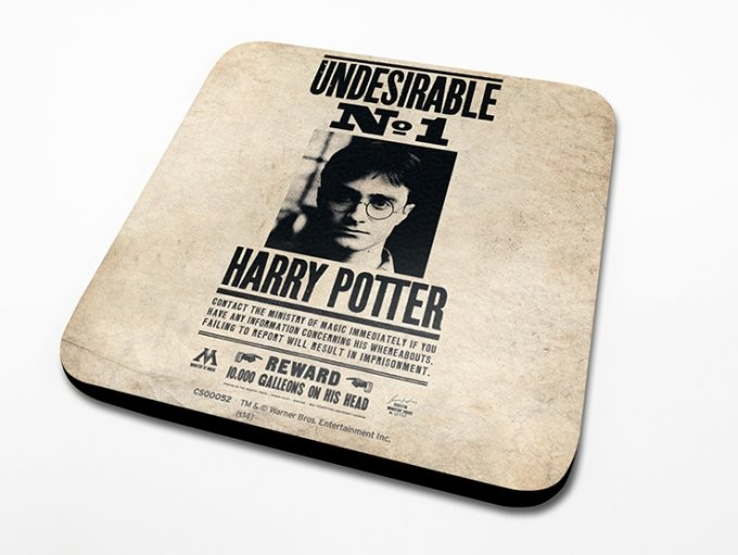 Harry Potter – Undesirable No.1 Onderzetters