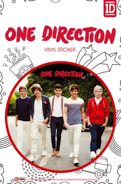 ONE DIRECTION - walking Autocolant