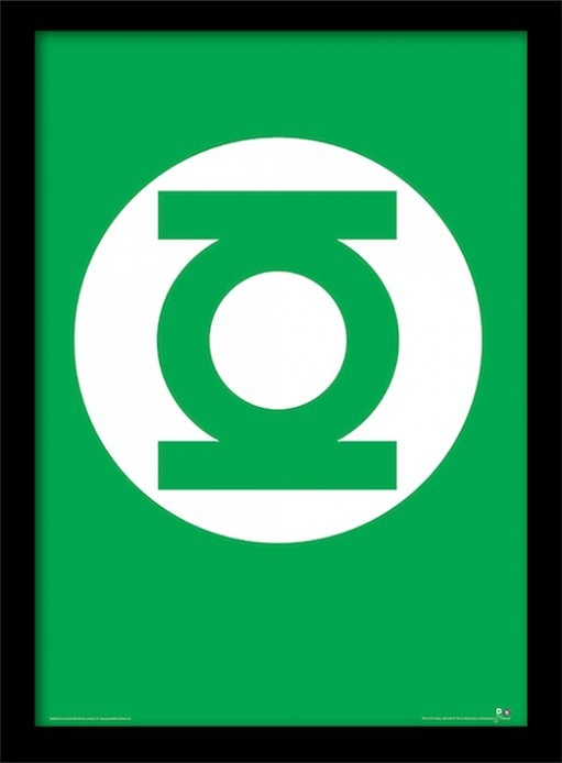 DC Comics - The Green Lantern oprawiony plakat