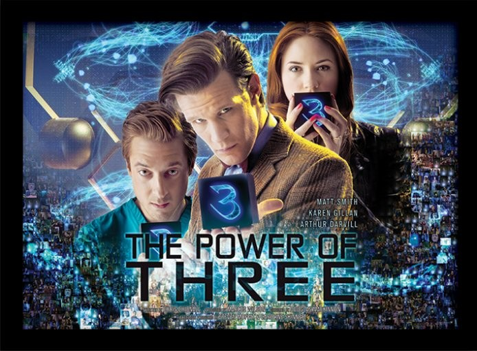 Doctor Who - Power of 3 oprawiony plakat