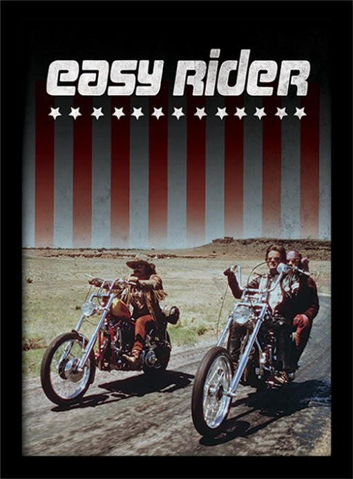 EASY RIDER - riders oprawiony plakat