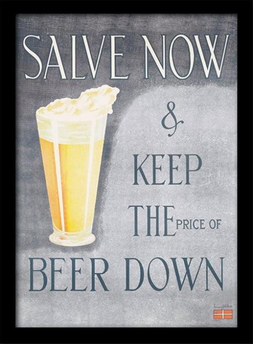 IWM - Salve Now oprawiony plakat
