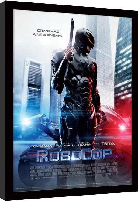 ROBOCOP - 2014 one sheet oprawiony plakat