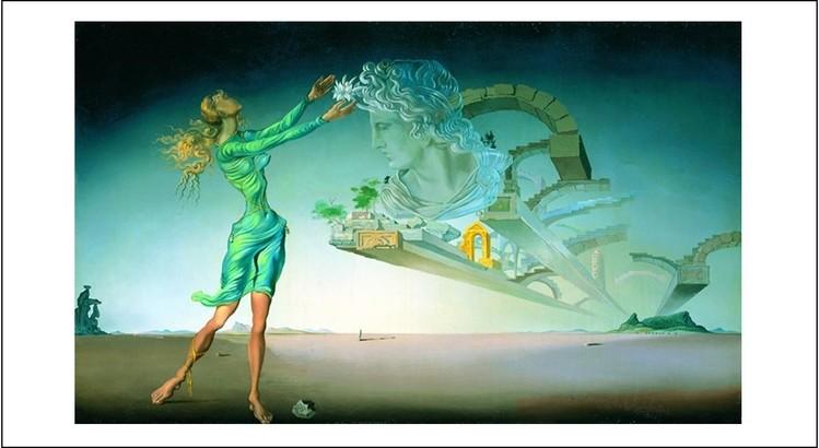 Salvador Dalí Mirage Oprawiony Plakat Kup Na Posterspl
