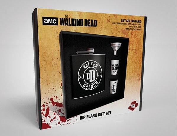 Hip Flask: Gift Set The Walking Dead - Walker Hunter