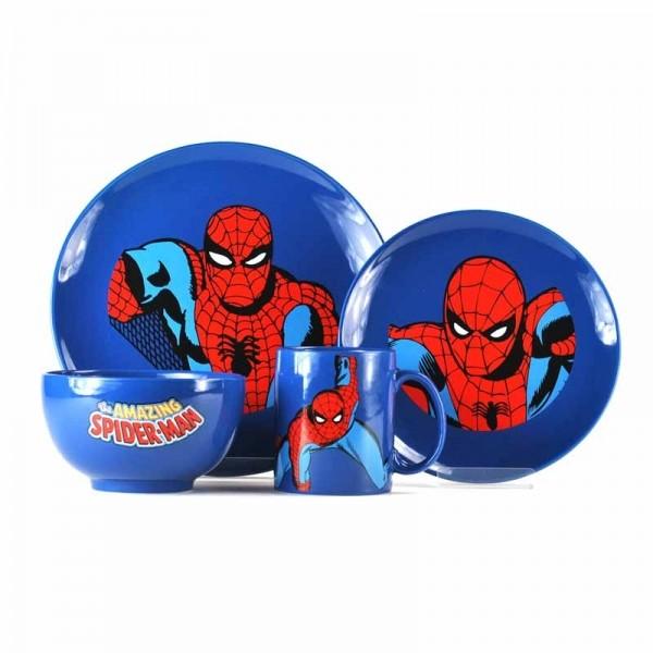 Jedilni set Marvel - Spider-Man