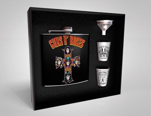 Petaca: Set de regalo Guns'n'Roses - Cross