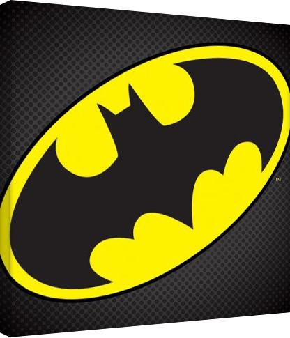 DC Comics - Batman Symbol På lærred