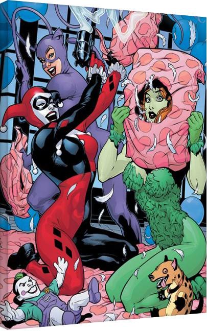 DC Comics - Slumber Party På lærred