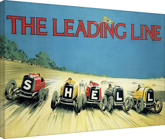 Shell - The Leading Line, 1923 På lærred