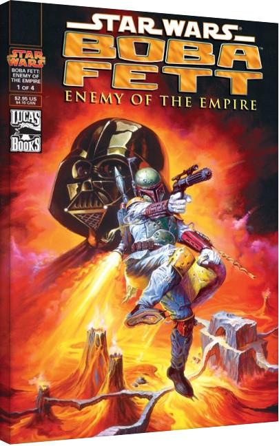 Star Wars - Enemy Of The Empire På lærred