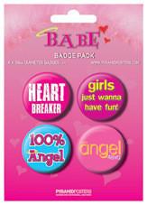 Paket značaka BABE