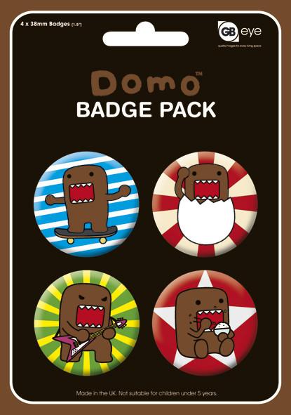 Paket značaka DOMO