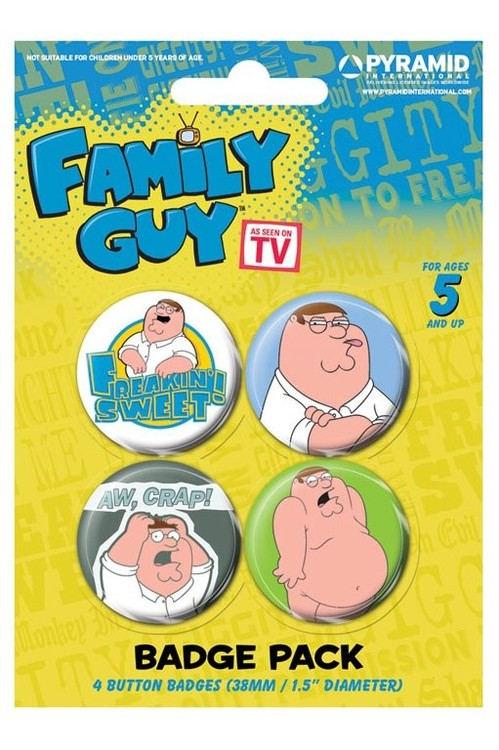 Paket značaka FAMILY GUY - peter