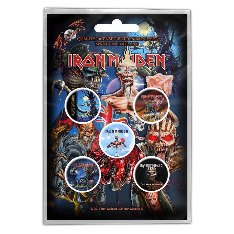 Paket značaka Iron Maiden – Later Albums