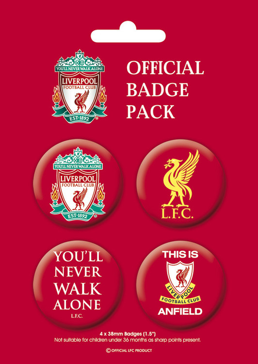 Paket značaka LIVERPOOL Pack 1