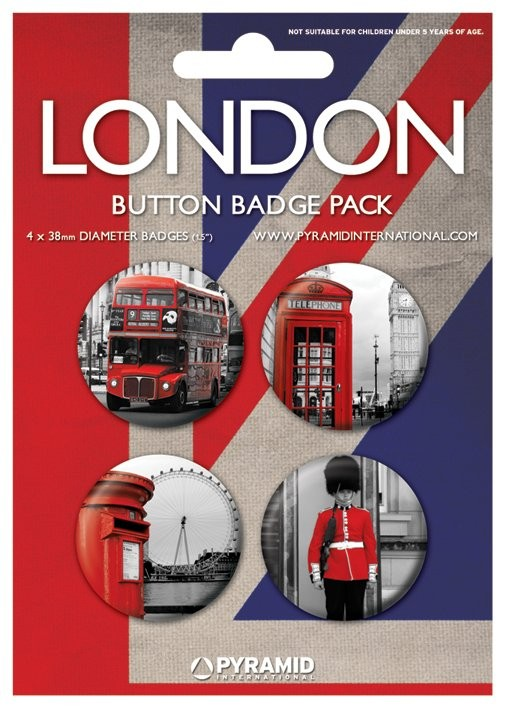 Paket značaka  LONDON - photos