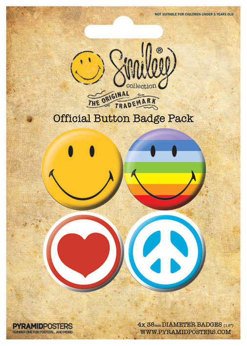 Paket značaka SMILEY ICONS