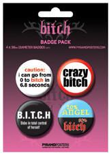 Paket značk BITCH