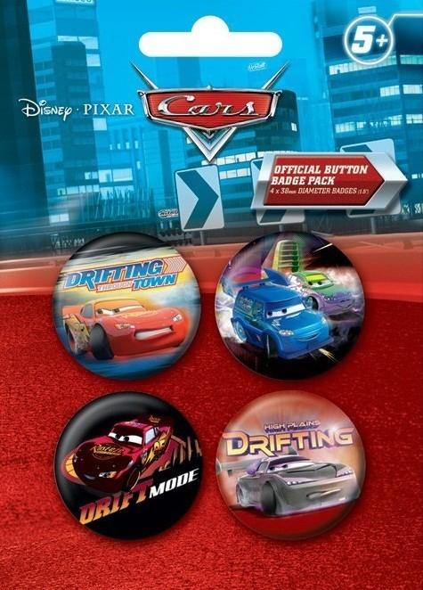 Paket značk CARS DRIFT 2