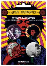 Paket značk JIMI HENDRIX