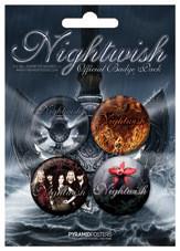 Paket značk NIGHTWISH - Dpp