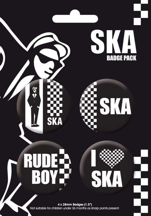 Paket značk SKA