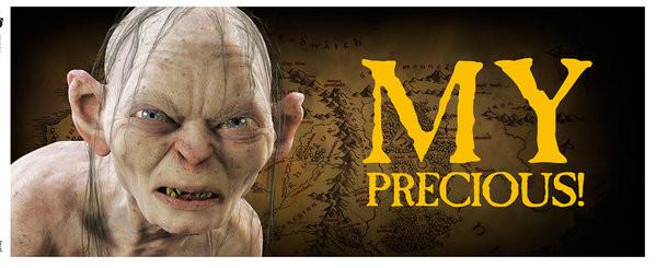 Hrnek Pán Prstenů – Gollum