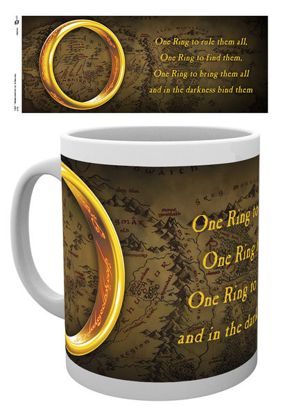 Hrnek Pán Prstenů – One Ring