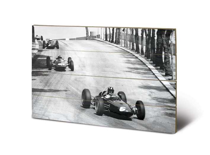 Monaco - New Promenades Panneau en bois