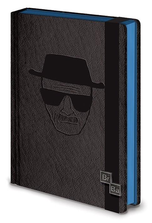 Breaking Bad Premium A5 Notebook - Heisenberg Papelería