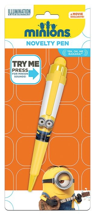 Minions (Gru: Mi villano favorito) - Movie Novelty Pen Papelería